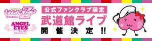 AE限定武道館ライブ